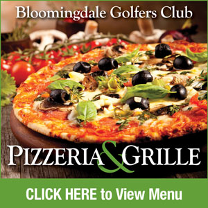 Graphic for Bloomingdale Golfers Club Pizzeria